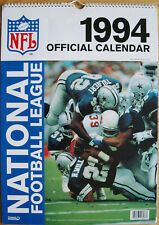 NFL National Football League Kalender 1994 Spiralbindung 30 x 42 cm 12 Poster