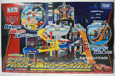Takara Tomy Cars Tomica Action Course Spiral Elevator Junction Playset