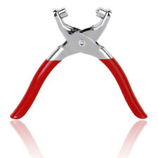 Leather Belt Hole Hand Punch Plier Setting Pliers with 100 Grommets Tools