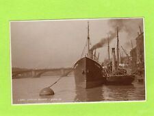 London Bridge Shipping Thames Barge RP pc used Judges L340  Ref J331