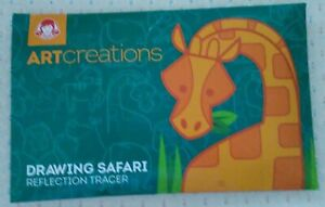 Wendy's Kids' Meal Toy 2019 Art Creations Drawing Safari Reflection Tracer *NEW*