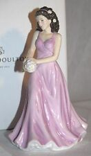 ROYAL DOULTON FLOWER OF THE MONTH APRIL DAISY HN 5503 SIGNED BY MICHAEL DOULTON