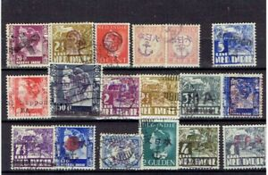 Japanese occupation Dutch Indie's used