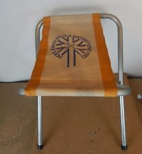 More details for pope john paul ii uk visit 1982 folding stool scarce item stool 1