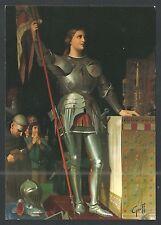 Postal de Santa Juana de Arco santino holy card image pieuse