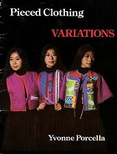 Pieced Clothing Variations by Yvonne Porcella Signed Copy Strip Piecing