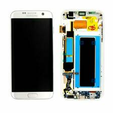 Samsung GH97-18533B Schermo LCD con Vetro Touchscreen per Samsung Galaxy S7 Edge - Argento