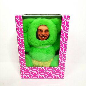 Rare Aphex Twin Donkey Rhubarb Green Teddy Bear Plush New