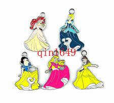 Lot 20pcs Princess Snow White Metal Charm Jewelry Making DIY pendant Party Favor