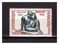 s24792) FRANCE 1961 MNH** A. Maillol 1v