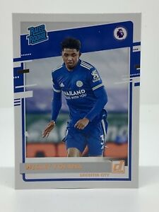 PANINI CHRONICLES SOCCER 2020-2021 EPL RATED ROOKIE WESLEY FOFANA LEICESTER