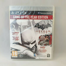 Playstation 3 PS3 - Batman Arkham City Game of the Year Edition GOTY NEW SEALED
