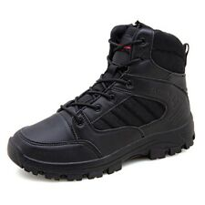 Mens Work Boots Waterproof Military Tactical Army Combat Hiking Ankle Shoes SZ