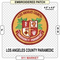 Los Angeles County Paramedic EMT-P LA California CA EMS Emergency Co Medic  F 99