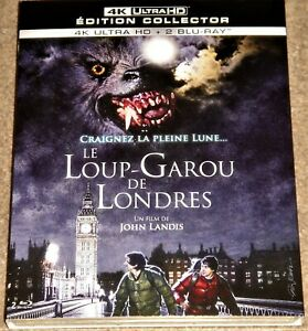 AN AMERICAN WEREWOLF IN LONDON 4K UHD EDITION /IMPORT/4K DOLBY VISION / 3-DISCS
