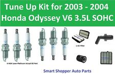 Oil Filter, Air Filter, PCV Valve, Spark Plugs Fit for 2003 2004 Honda Odyssey