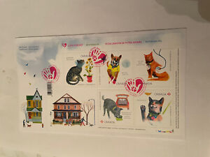 cat stamps first day of issue love your pet