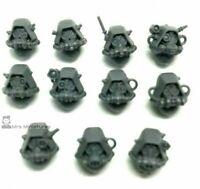 Adeptus Mechanicus Skitarii Rangers / Vanguard 11 x HEADS 40K helmets