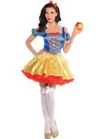 Mujer Sexy blancanieves princesa carnaval disfraz GB 8-20 talla grande