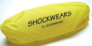 Outerwears - 30-1105-04 - Shockwears Shock Cover, Rear/Yellow`