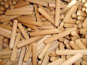 Wooden Furniture Fluted Dowels 10mm, sizes# 38mm,44mm 45mm or 75mm QTY 200(CC)