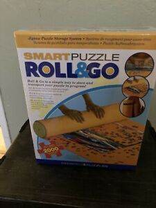 Smart Puzzles Roll and Go Puzzle Mat • Holds 2000 Pcs • NEW• FACTORY SEALED •