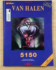 Van Halen 5150 Guitar Tablature Sheet Music Song Book Authorized Edition