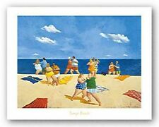 SEASCAPE ART PRINT Tango Beach Michael Paraskevas 24x18
