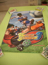 >> VIRTUA STRIKER 3 III SEGA ARCADE B1 SIZE OFFICIAL POSTER! <<