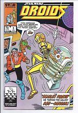 1986 Marvel Star Comics Star Wars Droids #3 VF 1st Print Direct Market
