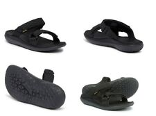 TEVA TERRA FLOAT SLIDE BLACK MENS SPORT SANDALS SLIDES SIZE 7.5 US
