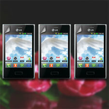 Lot 3X Clear LCD Screen Protector Guard Cover Film for LG Optimus L3 E400