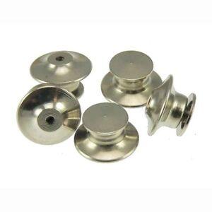 QTY 10-100 Locking Flathead Lapel Pin Back Clutch Clasp Fastener Military Sports