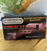 Nintendo Entertainment System NES Action Set console complete in box
