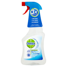 Dettol Antibacterial Surface Cleanser Spray Kills 99.9% of Bacteria 12 x 500ml