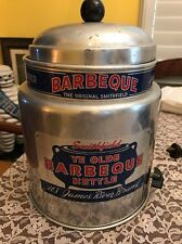 Rare Smithfield James River Brand Bbq Kettle Barbecue Food Advertisement