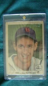 Carte de baseball de Ted Williams de 1959 super rare!