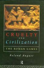 "NEW ""Cruelty & Civilization"" Gladiator Chariot Races Roman Games Coliseum Circus"