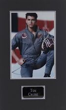 Tom CRUISE Signed & Mounted 12x8 Top Gun Photo AFTAL COA Pete MAVERICK Mitchell