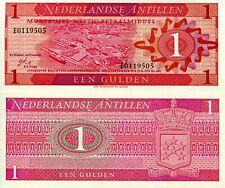 Netherlands Antilles 1 Gulden Banknote World Paper Money Currency Pick p20 1970