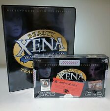 Xena Beauty and Brawn Archive Box & Collector's Album - Rittenhouse 2002