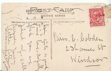 Genealogy Postcard - Family History - Cobden - Thames Street - Windsor   A1226