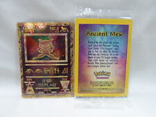 Pokemon Ancient Mew Promo Card New Sealed Package