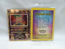 Scellé brochure carte 2019 Pokemon Mewtwo strikes back PROMO ANCIENT MEW Pack