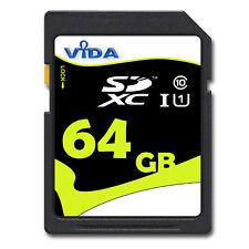 64 GB SDXC SD XC CLASS 10 für FUJIFILM FinePIX HS50EXR 64GB Speicherkarte