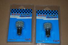 !!! SVENDO !!! 10 LAMPADINE AUTO T25 BA15S P21W 36 LED LUCE GIALLA 12 VOLT