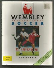 WEMBLEY INTERNATIONAL SOCCER - COMMODORE AMIGA 1200 - boxed with manual - TESTED
