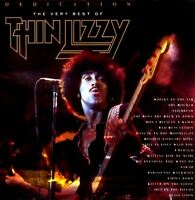 THIN LIZZY dedication - the very best of (CD album) greatest hits, hard rock