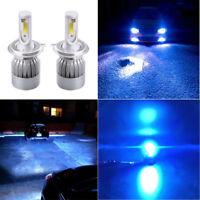 For Toyota Hilux 1983-2017 H4 HB2 9003 LED Headlight Hi/Lo ice blue Globes 2Pcs