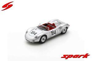 43TF60 Spark: 1/43 Porsche 718 RS 60 #184 Winner Targa Florio 1960 Jo Bonnier